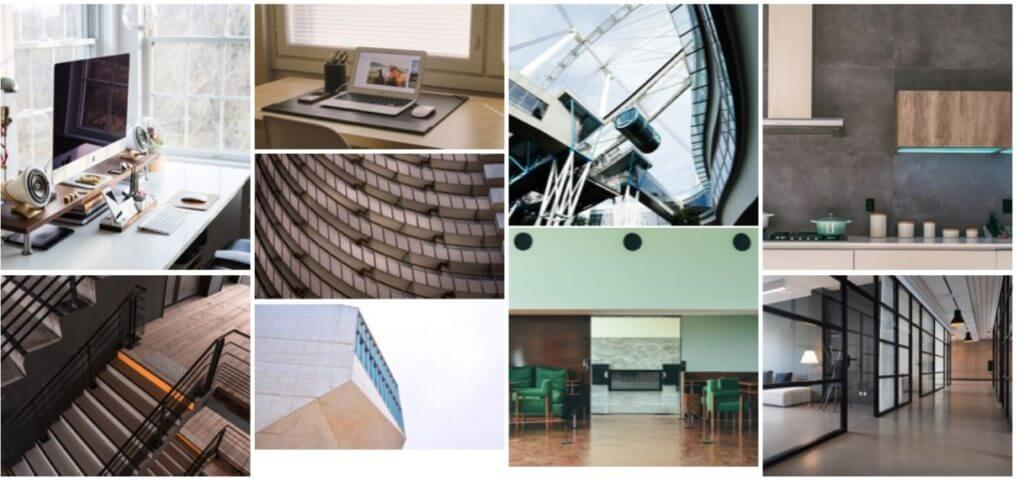 Collage Image of interiors