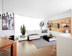 A serene condo in Toronto's bustling downtown