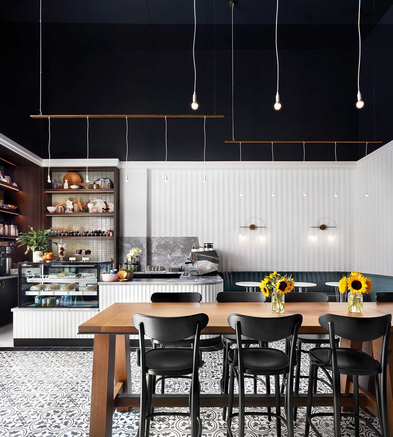 Three different moods for three distinct spaces at Victor Restaurant