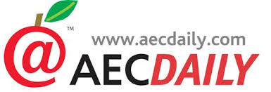 Graphic that reads 'AEC Daily'