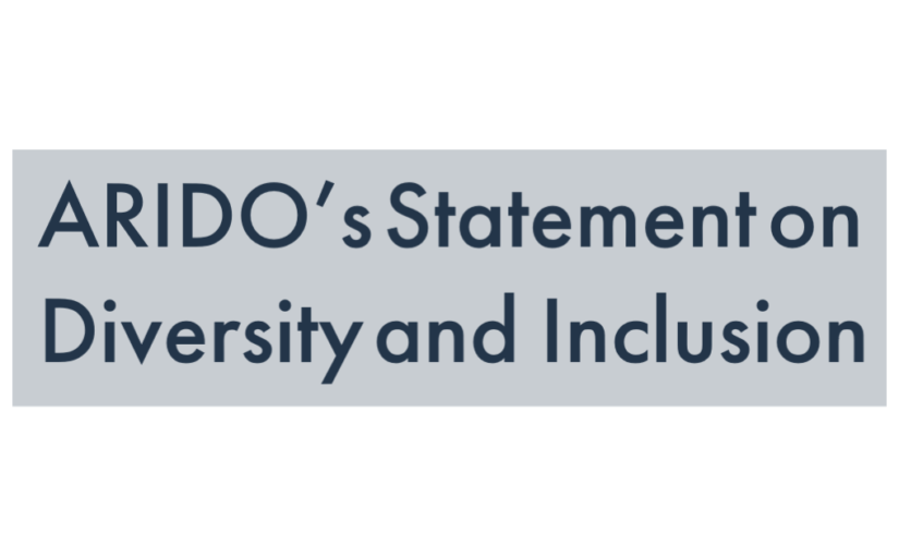 ARIDO's Statement on Diversity and Inclusion