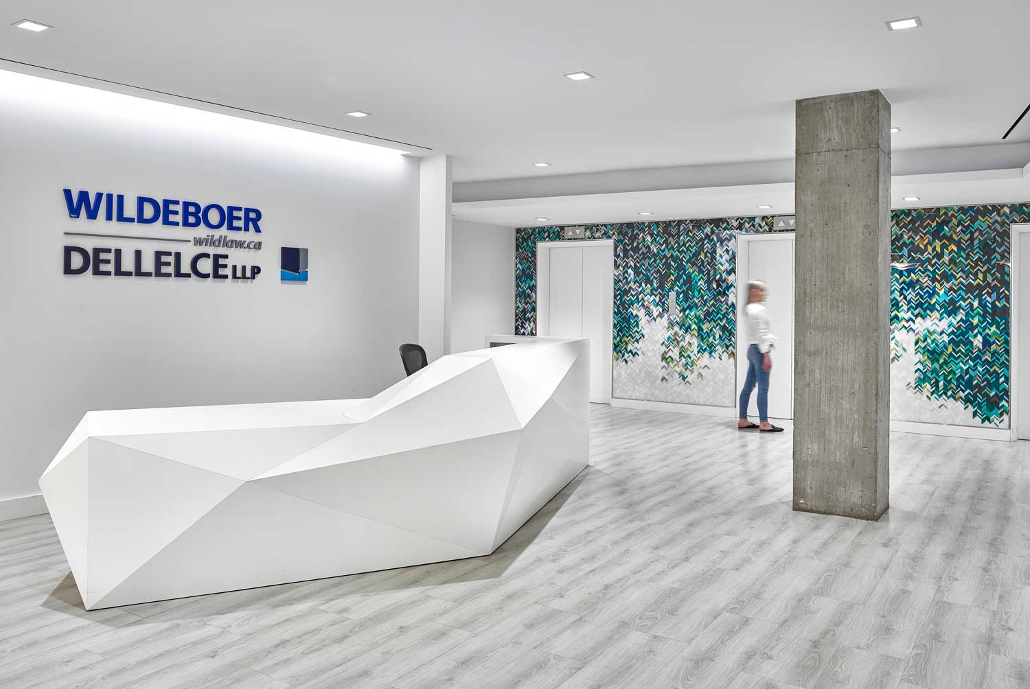A contemporary space for a contemporary law firm