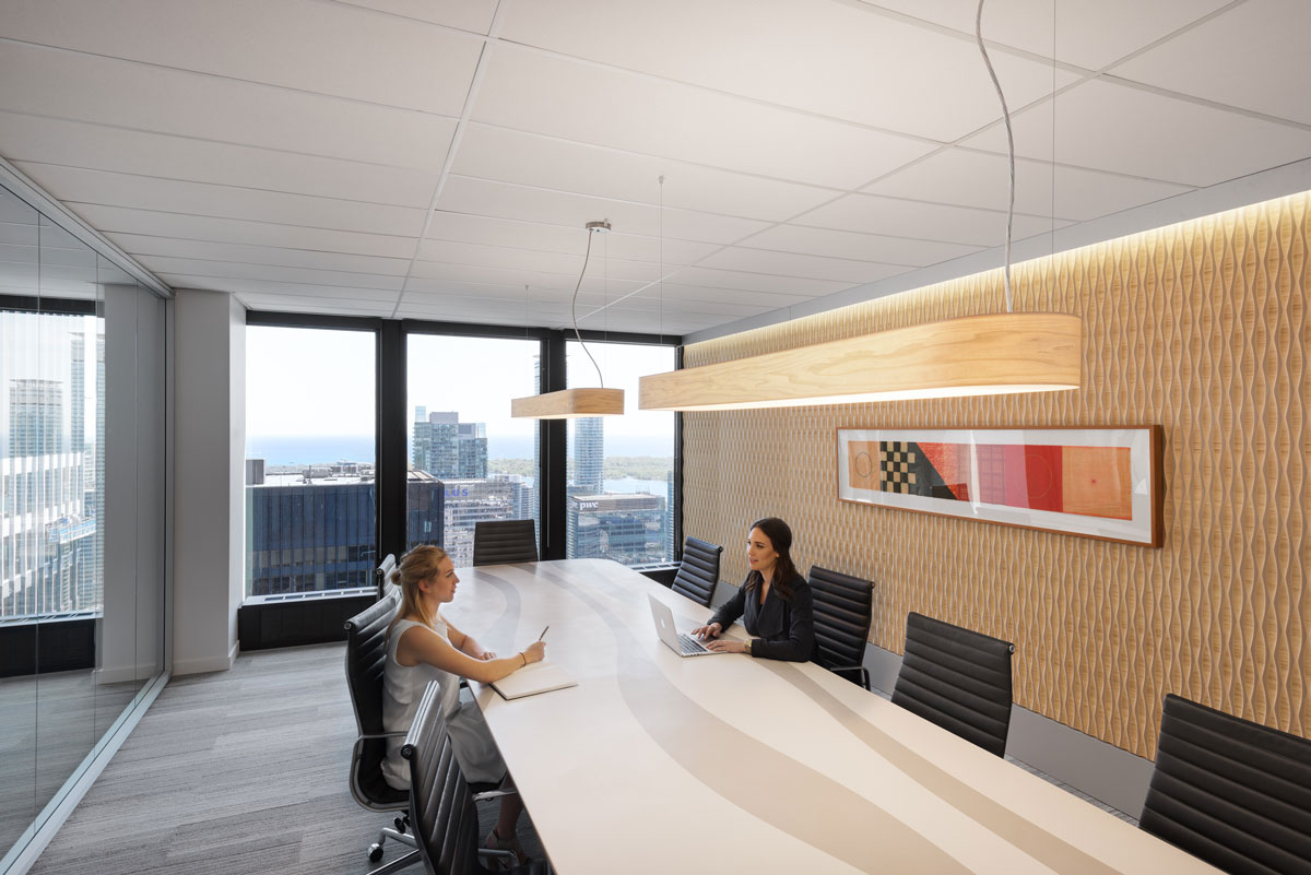 Pioneering the open plan office