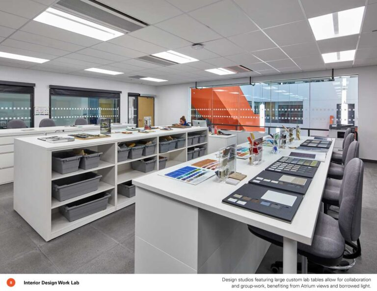 Materials library at Sheridan College