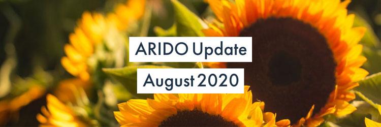 ARIDOUpdate August 2020 Sunflower Background
