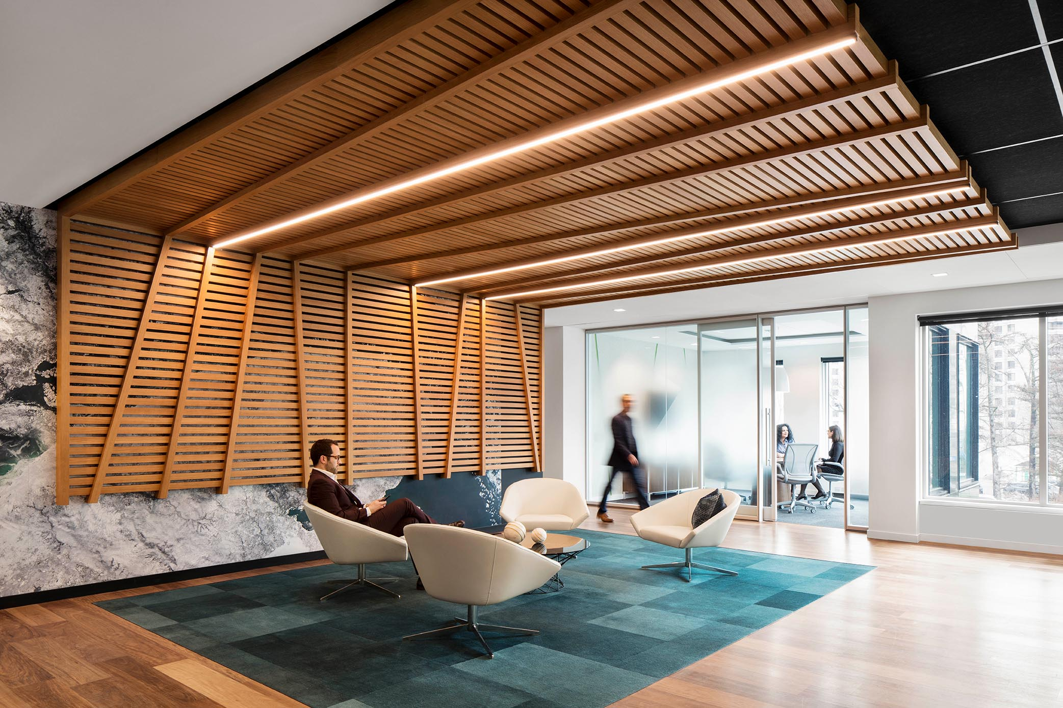 How Quebec City's topography inspired Deloitte's downtown offices