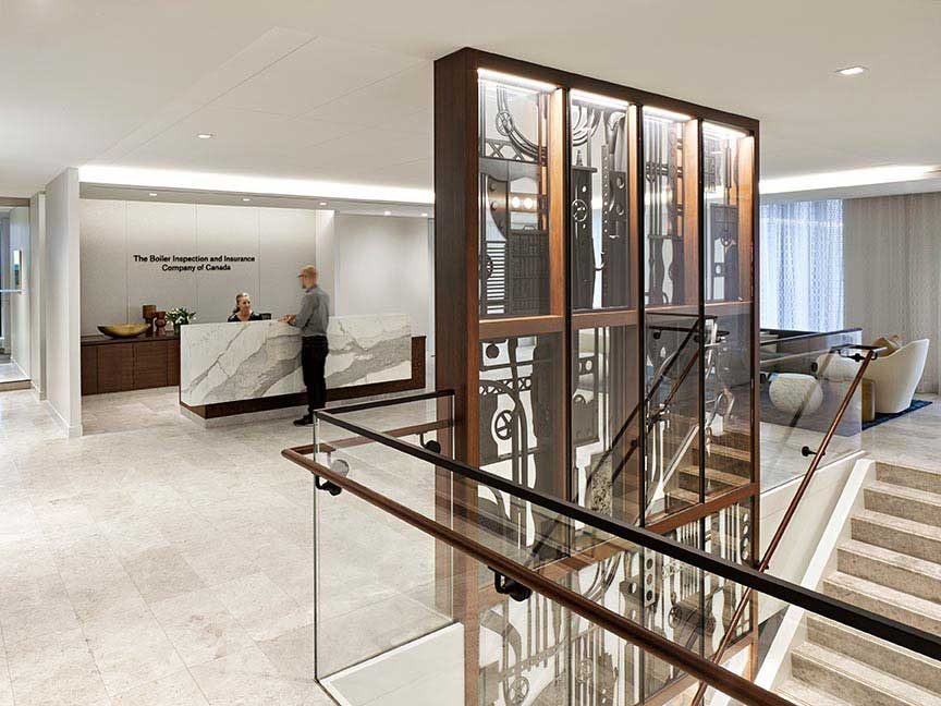 A hundred and forty year old company gets a 21st century office space