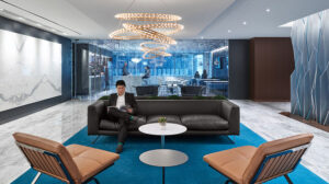 Modern design for this forward-thinking law firm