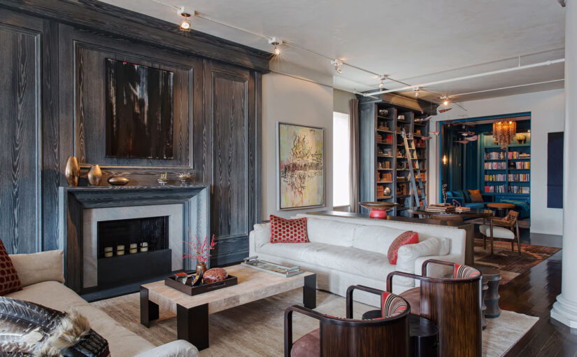 Client's dreams of Parisian boho chic achieved in this New York loft