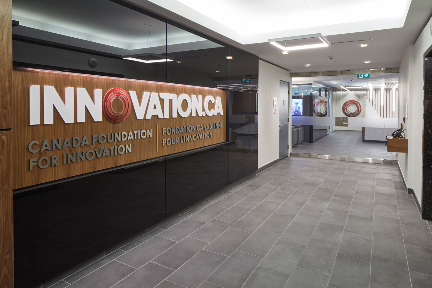 An immaculate office space lets this foundation focus on innovation