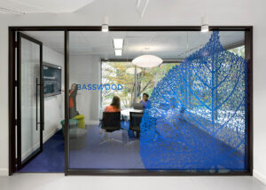 Forest surroundings inspire this Toronto software office