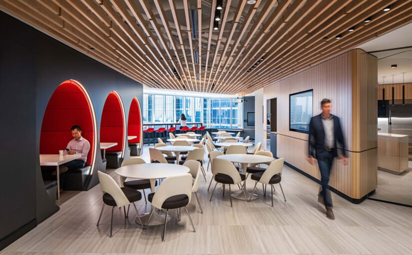 Mining corporation strikes gold with new office design