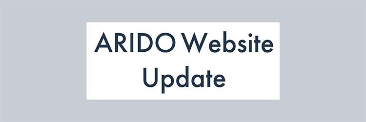 ARIDO Website Update