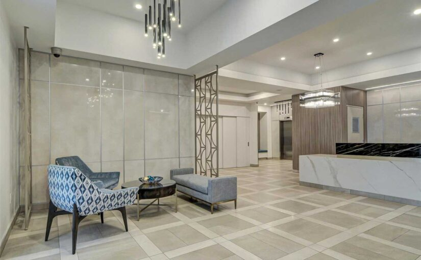 A Stunning Lobby Transformation Into A Functional and Modern Interior