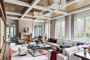 This luxe home mixes casual with refined details