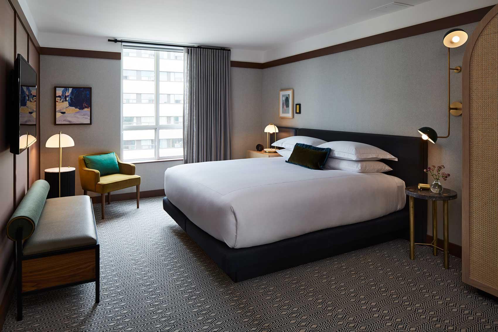 Bringing Home to Hotel Design at the Kimpton Saint George Hotel