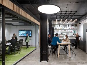 Global thinking was central to this architectural design firm's new Toronto office
