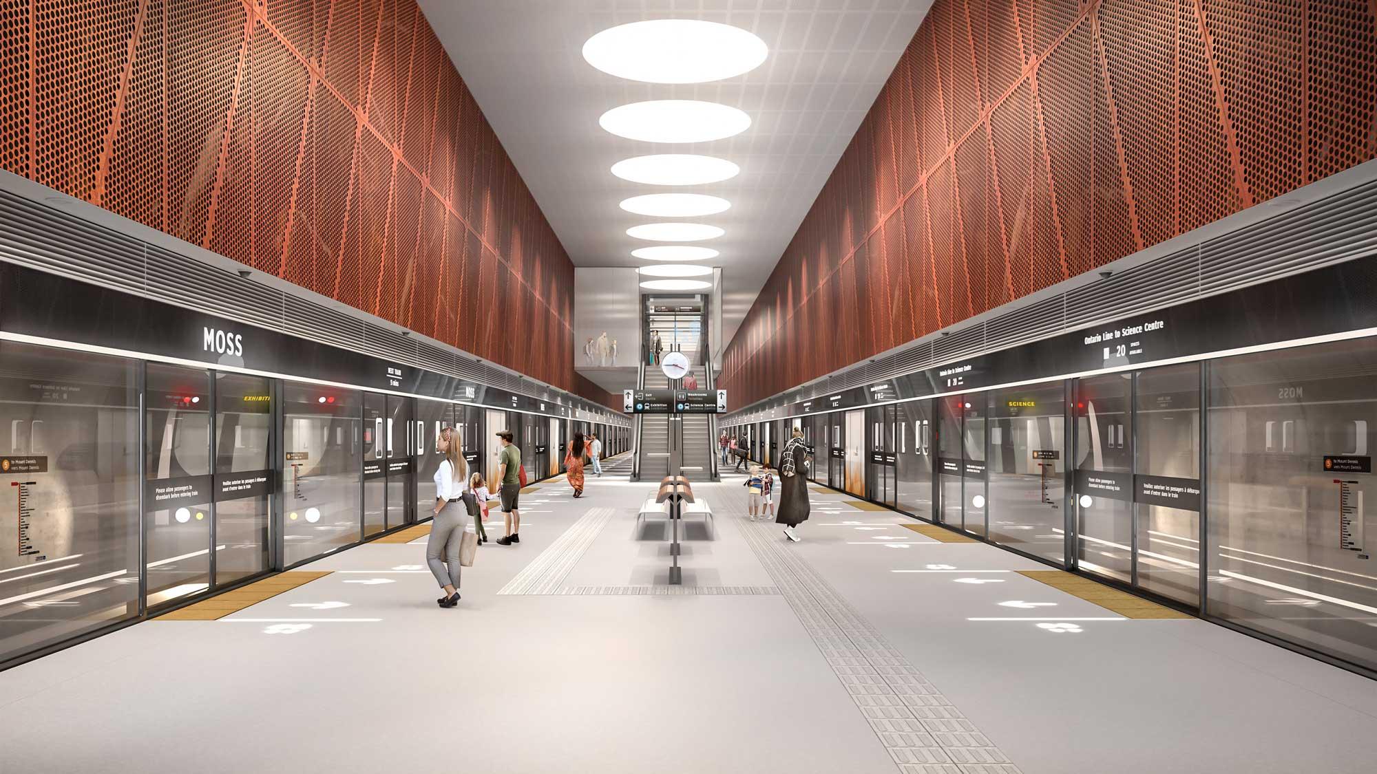 Impact Award Winner: DS-09 Subway Station Design Standard