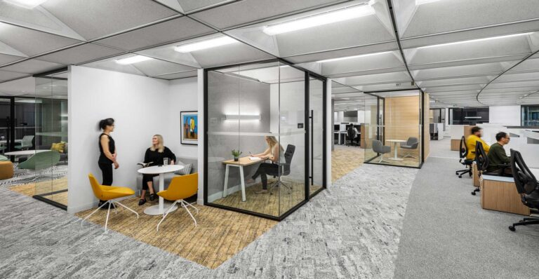 A multitude of workplace environments provides options for staff.